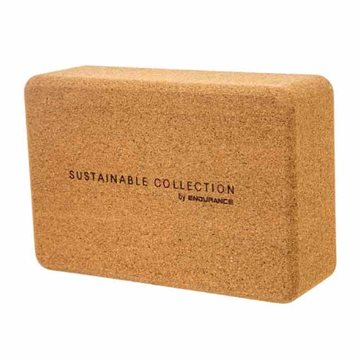 Endurance Sustainable Collection Poso Cork Yoga Blok