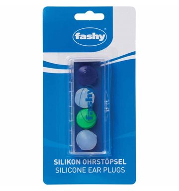Fashy Earplug - Silicone ørepropper