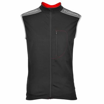 Fusion Mens Multisport Vest i sort
