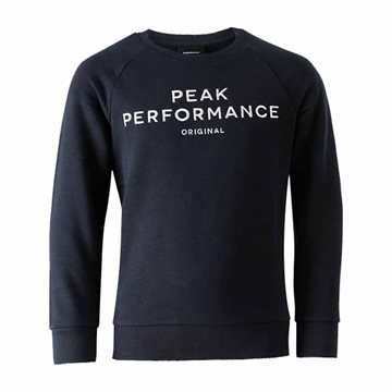 Peak Performance - Jr Logoc sweatshirt til børn
