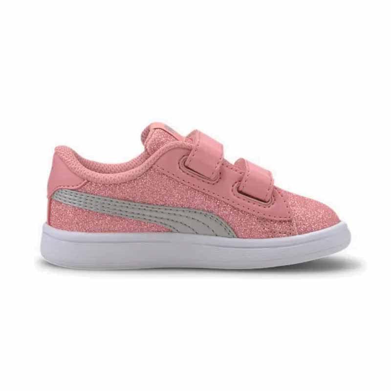 Puma Smash v2 Glitz Glam Sneakers til børn str. 22 27