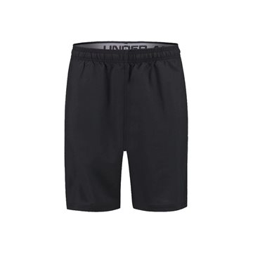 Under Armour Woven Graphic Wordmark Shorts i sort til mænd