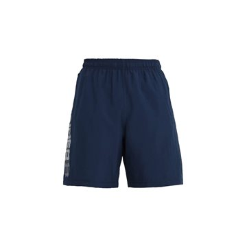 Under Armour Woven Graphic Wordmark Shorts i blå til mænd