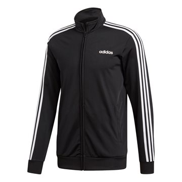 adidas Essentials 3Stripes Track Top Tricot jakke i sort til mænd