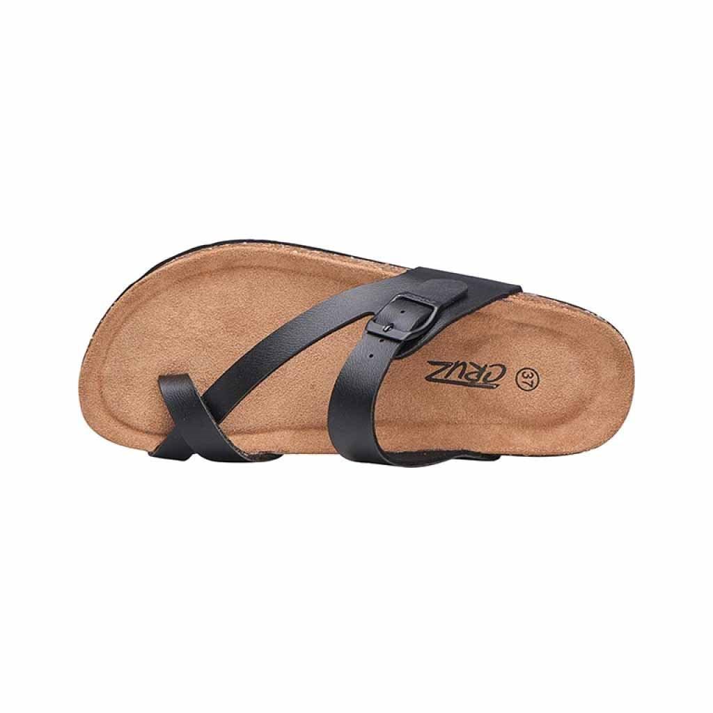 Cruz Barn Cork Sandaler Sort Dame