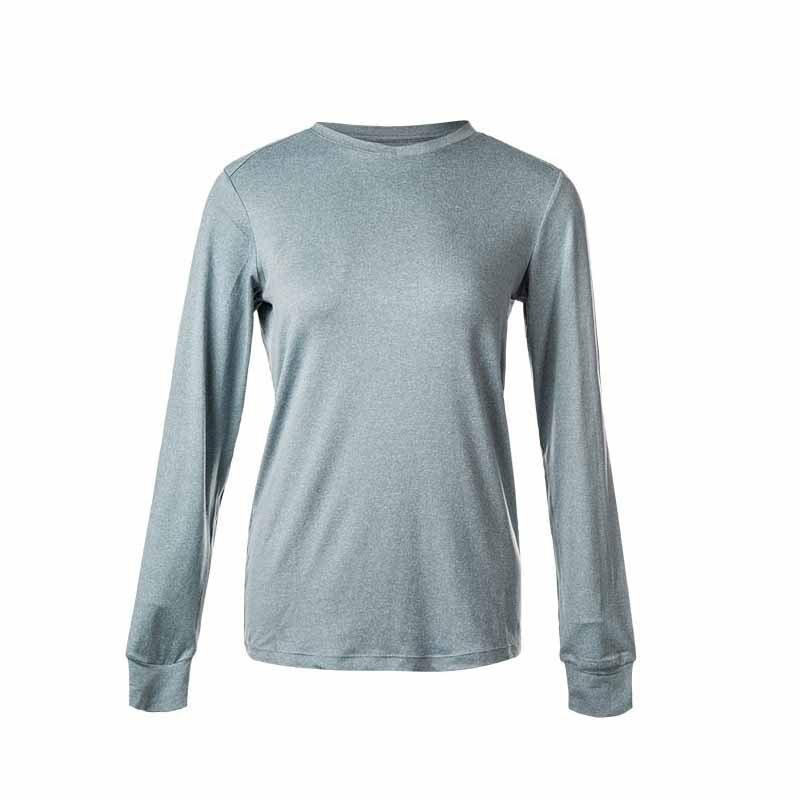 Endurance Kusina Melange Sustainable Langærmet t shirt til kvinder
