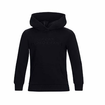 Peak Performance Jr Logo Hood Sweatshirt til børn
