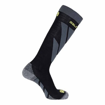 Salomon Socks S/Access Black/Forged - skistrømper