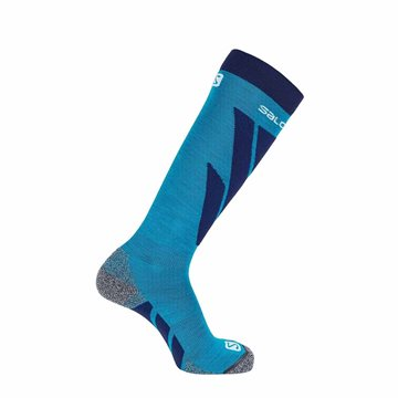 Salomon Socks S/Access Hawaiian Surf - skistrømper