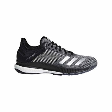 adidas Crazyflight X 2 Indoorsko i sort/grå Unisex