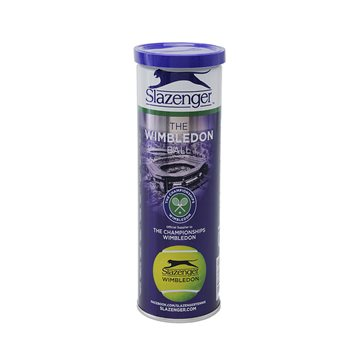 Slazenger The Wimbledon Ball 4Tin