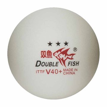 Double Fish 40+3-stars Bordtennisbolde 10pak